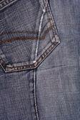 Bleu jeas texturen — Stockfoto