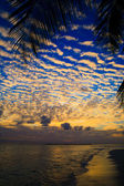 Maldivian Sunset — Stock Photo