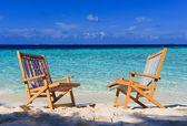 Koppla av på tropiskt paradis — Stockfoto