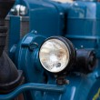Old timer tractor — Stock Photo