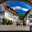 Old very nice city at Germany - Stock Photo