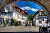 Old very nice city at Germany — Stok fotoğraf