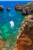 Costa em portugal — Fotografia Stock