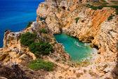 Rocha algarve - costa em portugal — Fotografia Stock