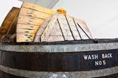 Whiskey distillery — Stock Photo