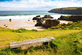 Durness beach - schottland — Stockfoto