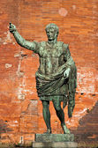 The leader: Cesare Augustus - Emperor — Stock Photo