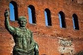 The leader: Cesare Augustus - Emperor — Stock Photo