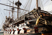 Detalj av neptunus galleon — Stockfoto