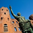 The leader: Cesare Augustus - Emperor — Foto Stock