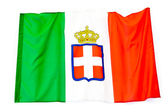 Flag of the Kingdom of Italy — Stock Photo