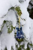 Little Christmas Tree Bell — Stock Photo