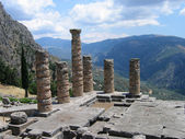 Delphi ruins, Greece — Stock Photo