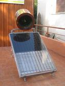 Solar heater — Stock Photo