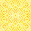 Ethnic decorative motifs in yellow tones — Stock Photo