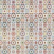 Retro pattern with circles — Stock Photo #4096027