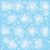Snowflakes, winter background — Stock Photo