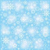Schneeflocken, winter-hintergrund — Stockfoto