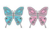 彩色的蝴蝶 — 图库照片