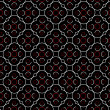 Retro background with geometrical shapes in red, black and white — Stock Photo