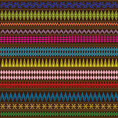 Multicolored texture with geometric ethnic ornaments — Stock Photo