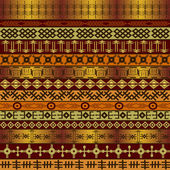 Background with African ethnic motifs — Stock Photo