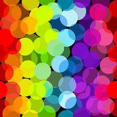 Modello senza soluzione di continuità in colori arcobaleno — Foto Stock