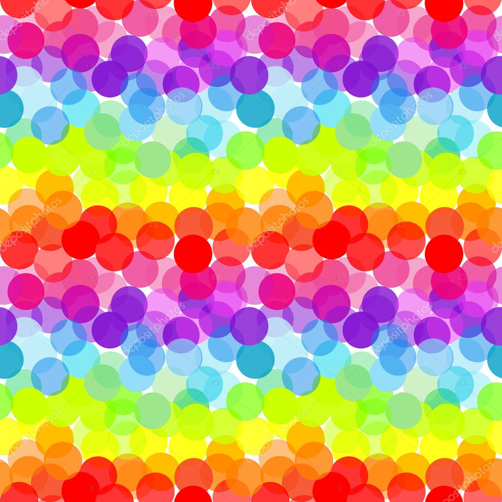 Abstract rainbow, seamless pattern  Stock Photo #4972338