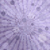 Abstract background with squares, sunburst and circles — Stock Photo