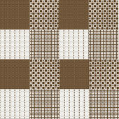 Set of 12 backgrounds in brown tones, decorative texture — Stock Photo