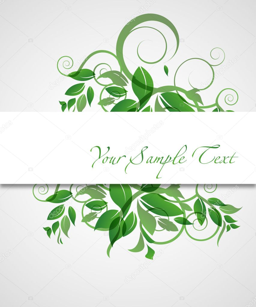 Abstract spring floral vector background.eps10 for your design  Stock Vector #5345657