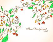Floral background. eps8 — Stock Vector