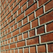 Adged brick wall — Stock Photo