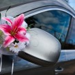 Elegant car for wedding celebration — Stock Photo #4373079