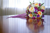 Bunch of flowers for the bride — Stock Photo