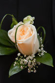 Bouquet a buttonhole — Stock Photo