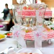 Table wine glasses for wine - ストック写真