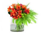 Vazoda çiçekler grup — Stok fotoğraf