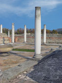 Ruins of Temple in Gamzigrad - Felix Romuliana — Stock Photo
