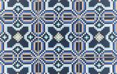 Ornamental old tiles — Stock Photo