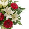 Detail of bouquet of flowers — Stock Photo #4032754