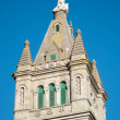 Church tower detail - Stock Photo