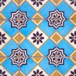 Ornamental old tiles — Stock Photo #4053308