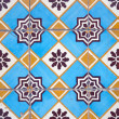 Ornamental old tiles — Stock Photo