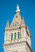 Détail du clocher de l'église — Photo