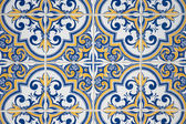 Decoratieve oude tegels — Stockfoto