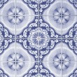 Ornamental old tiles — 图库照片