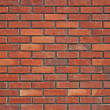 Red brick wall texture - 图库照片