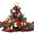Christmas arrangement — Stock Photo #4194079