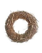 わらで作られた花輪 — ストック写真